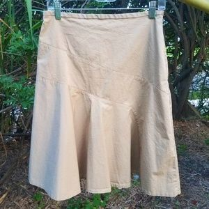 Gap Women's Khaki Skirt, Size 4